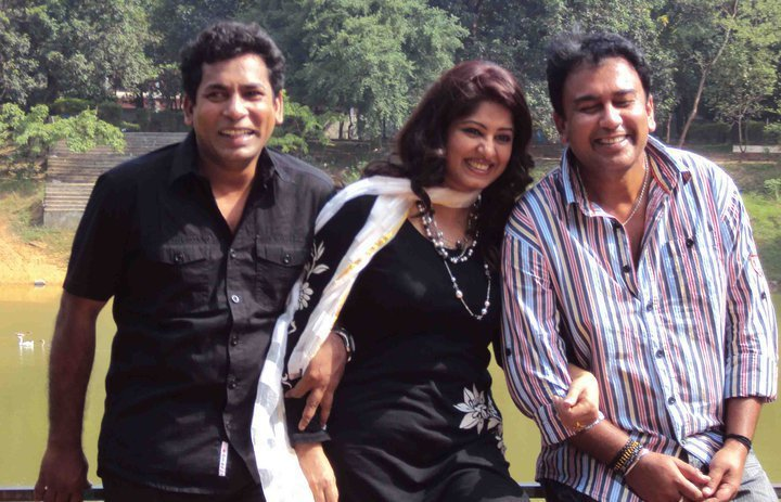 Musharof karim, Moushumi and Jahid Hasan