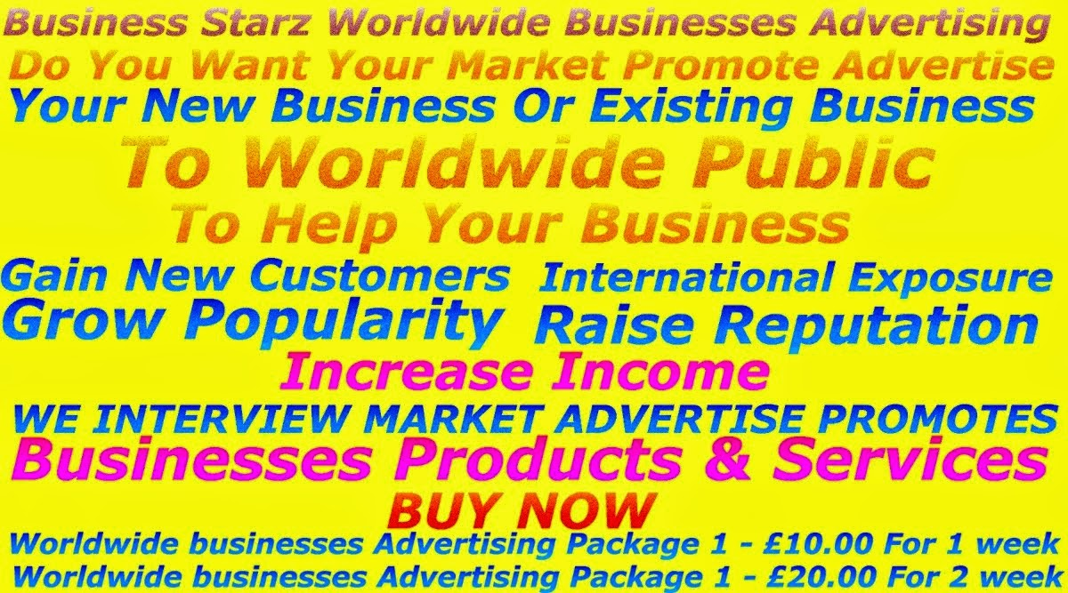 Business Starz Worldwide Businesses Advertising