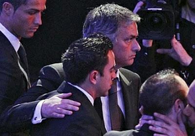 Mourinho and Xavi Hernandez