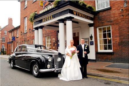 Wynnstay oswestry wedding