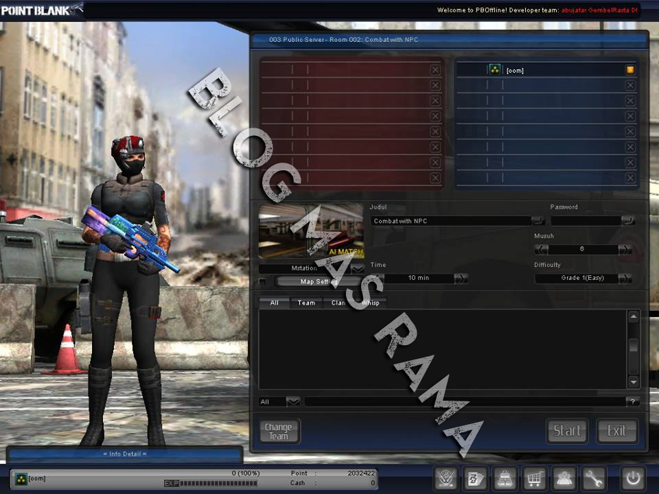 Download Point Blank Offline 2013 New Update + Tutorial Install