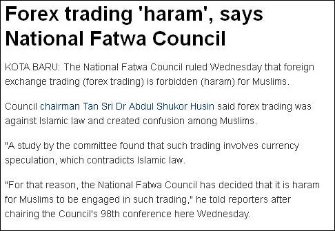 Is forex haram