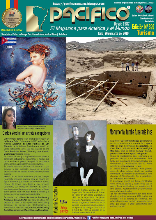 Revista Pacifico N° 399 Turismo