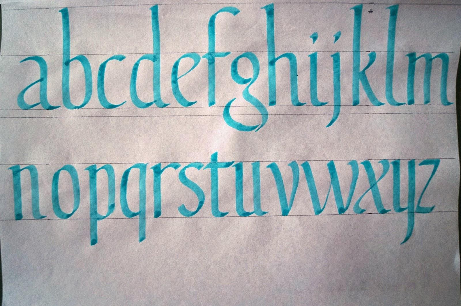 Écriture Tatouage Calligraphie Simulation - Calligraphie Polices Polices d'écriture et fontes