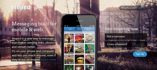 programa de mensajería Moped gratis para Android - www.dominioblogger.com