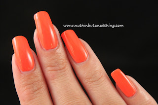 Maybelline Color Show Neon Collection Orange Fix