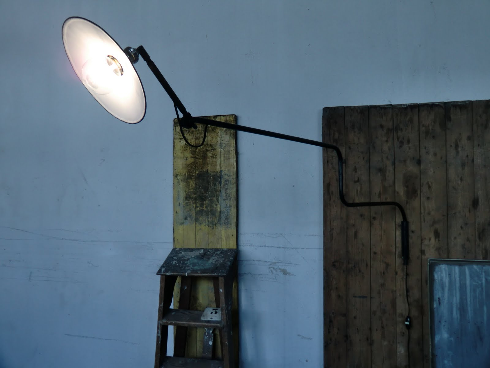 Wo and w collection lampe murale articul e d 39 atelier - Lampe articulee murale ...