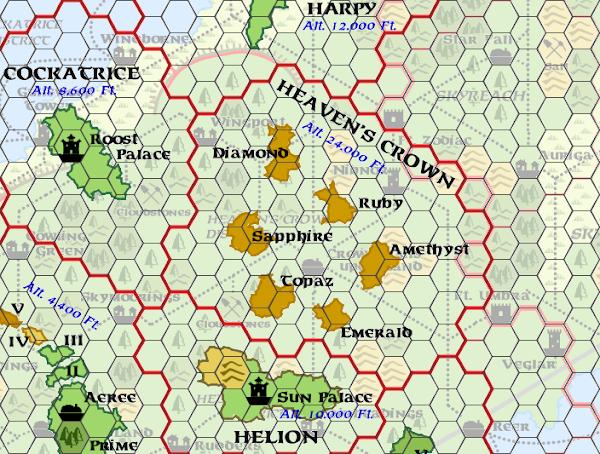 Mystara Alphatia Ar Heaven's Crown Map