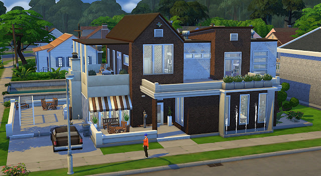 Sims 4 Factory Converted Home