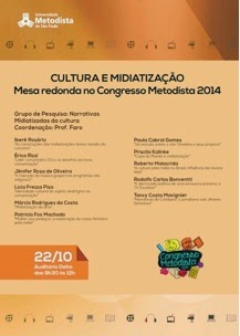➥ Narrativas midiatizadas da cultura: agenda do GP