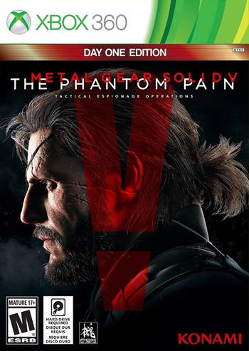 Metal Gear Solid V The Phantom Pain XBOX 360 Español