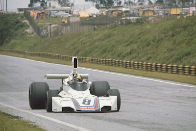 GP do Brasil de Formula 1, Interlagos em 1975  by pordentrodosboxes.blogspot.com