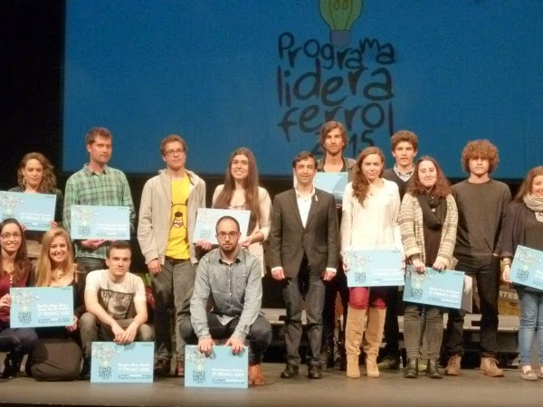 Premios Lidera Ferrol 2015. Sandra Rego