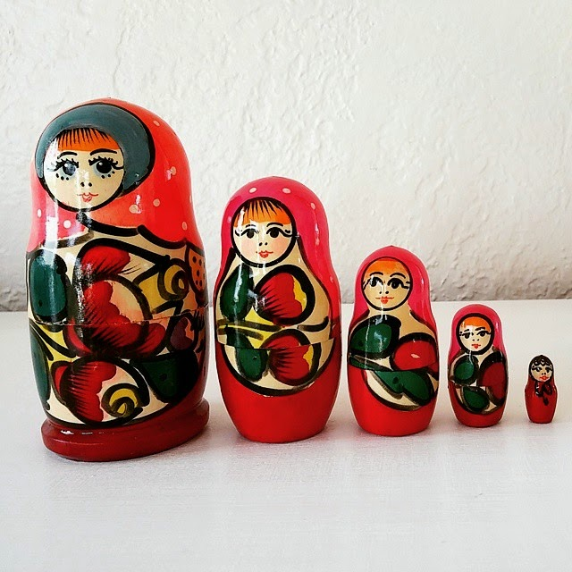 #thriftscorethursday Week 53 | Instagram user: newfoundnorthwest shows off this Nesting Dolls