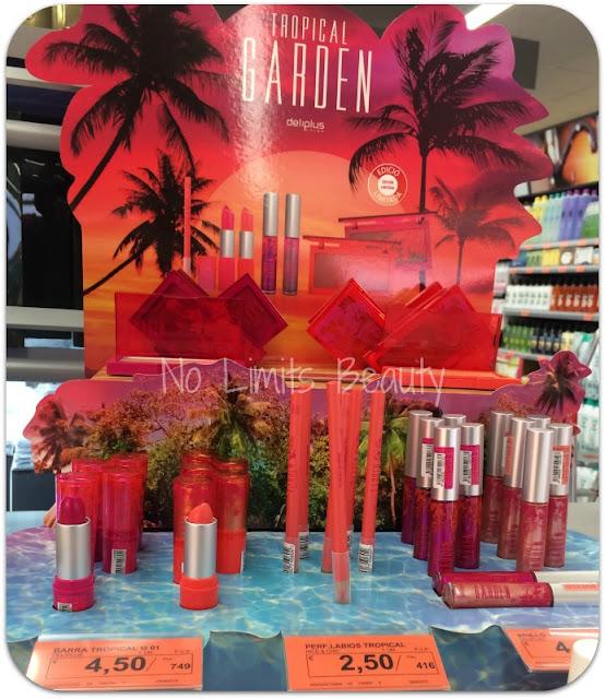 Novedades Mercadona: Colección Tropical Garden - Deliplús (edición limitada)