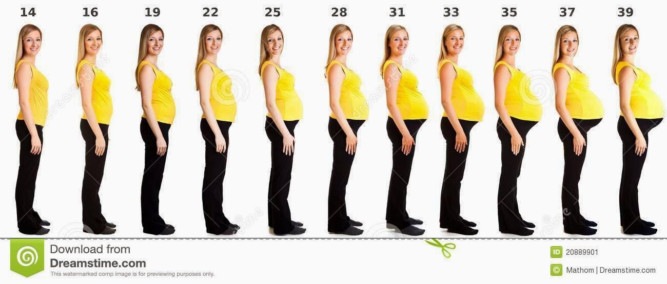 übergewicht schwangerschaftsbauch