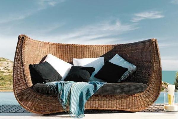 ideias jardim exterior:Decoração e Ideias – casa e jardim: Móveis de exterior LasKasas