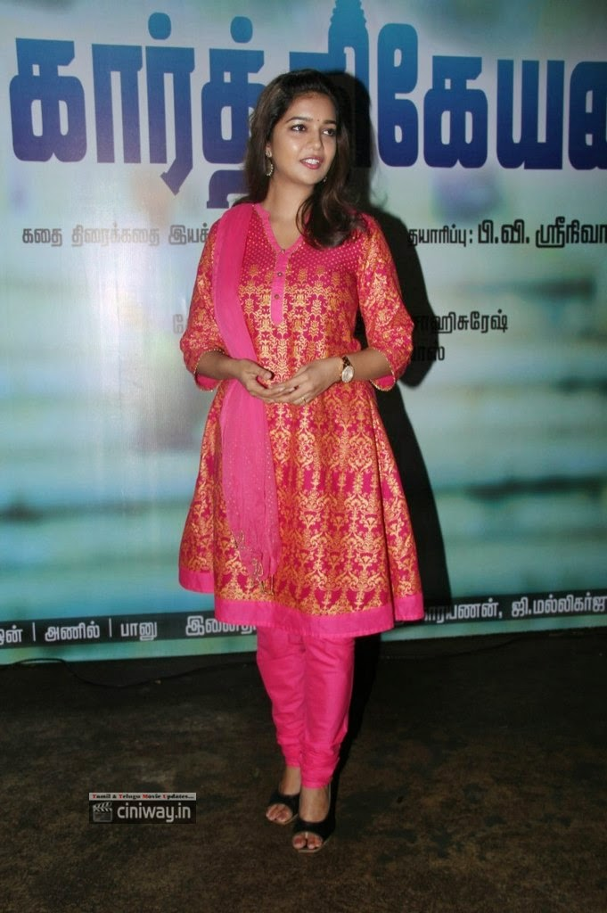 Swathi+Stills+at+Karthikeyan+Movie+Audio+Launch