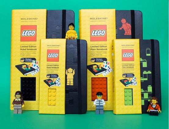 Caderno Moleskine da Lego