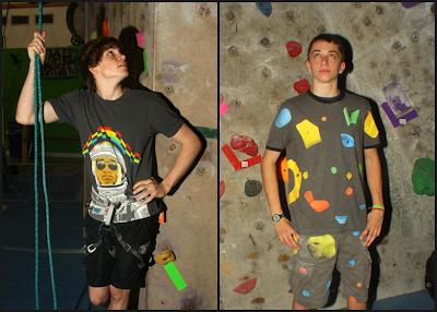 Climbers Davis Stewart & Patrick Murphy