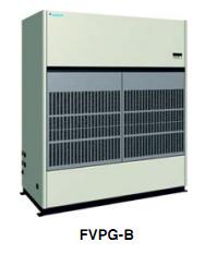 Máy lạnh tủ đứng công nghiệp daikin loại nối ống gió dành cho nhà xưởng, trung tâm thương mại