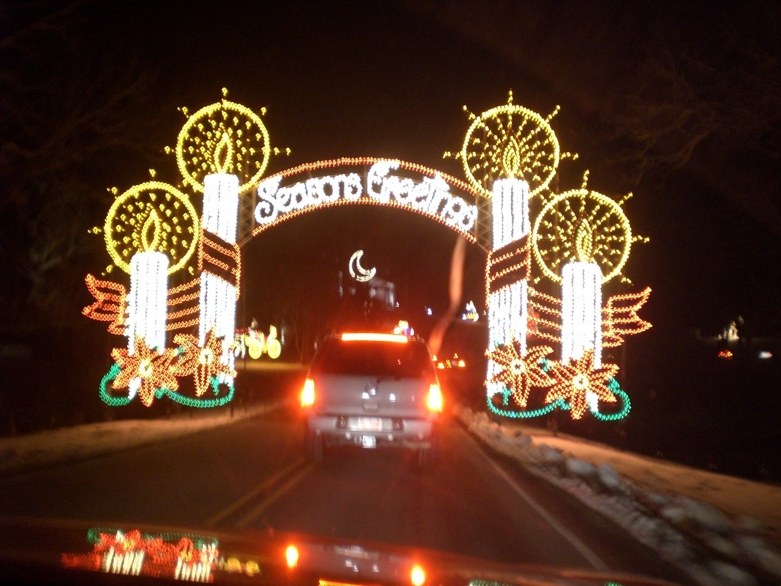 Travel NC With Kids: Tanglewood Festival of Lights – Christmas Light ...