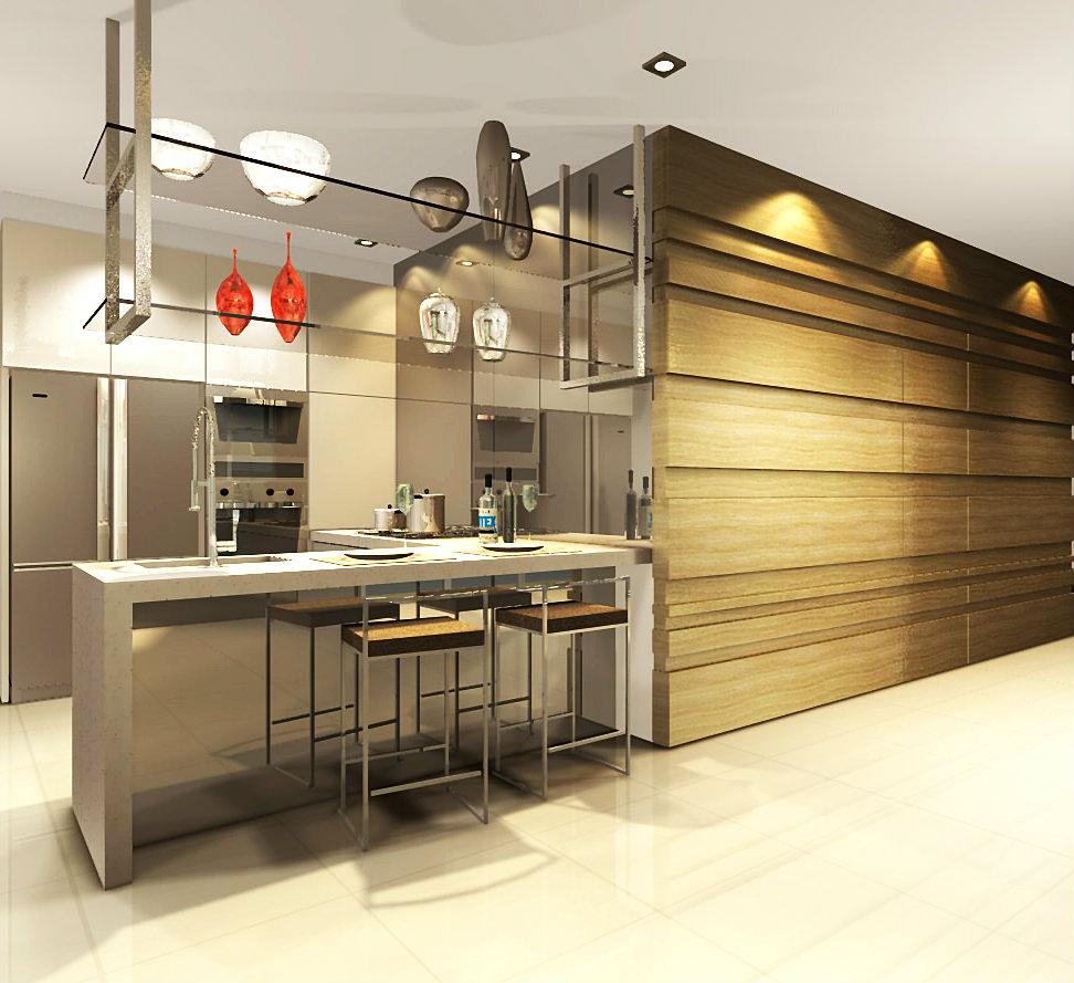 Dry And Wet Kitchen Design Photos: VIYEST INTERIOR DESIGN