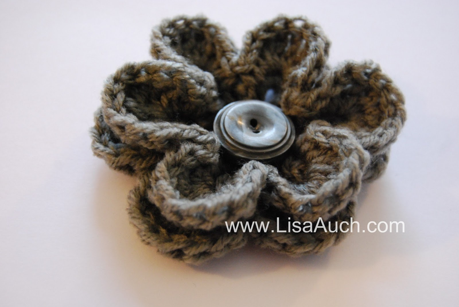 Easy crochet flower patterns 2 free crochet flower patterns note petal rounds are worked from front of flower to back start with one color ch 5 sl st into first ch to form a ring bankloansurffo Gallery