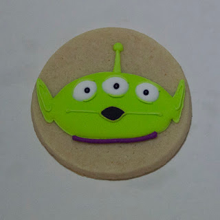 toy story alien cookies