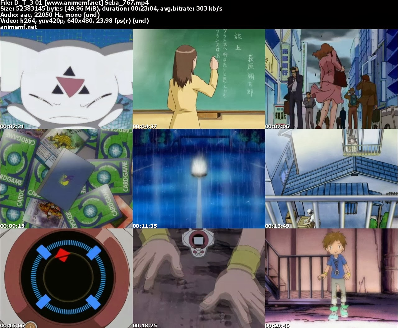 Descargar Digimon Tamers 51/51 MEGA