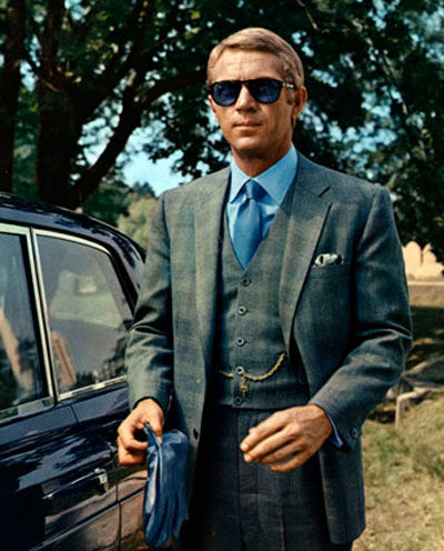 style machine dress like steve mcqueen. Black Bedroom Furniture Sets. Home Design Ideas