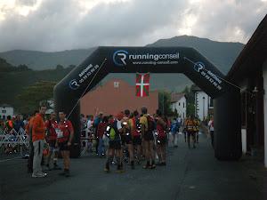 Bidarrai-ko maratoia: 42 km / 3110md+