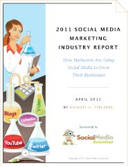 2011 Social Media Marketing Industry Report