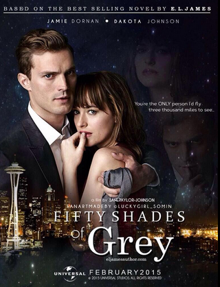 Fifty Shades of Grey 2015 poster