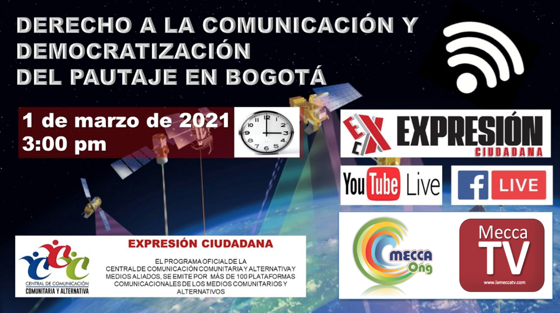 Derecho a la Democratizacion del Pautaje en Bogota