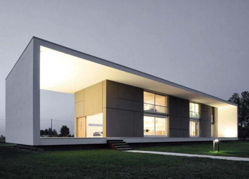 Casa Sulla Morella, The Modern House