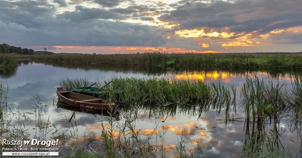 Zachód Słońca nad Biebrzą - taki chciałam zobaczyć