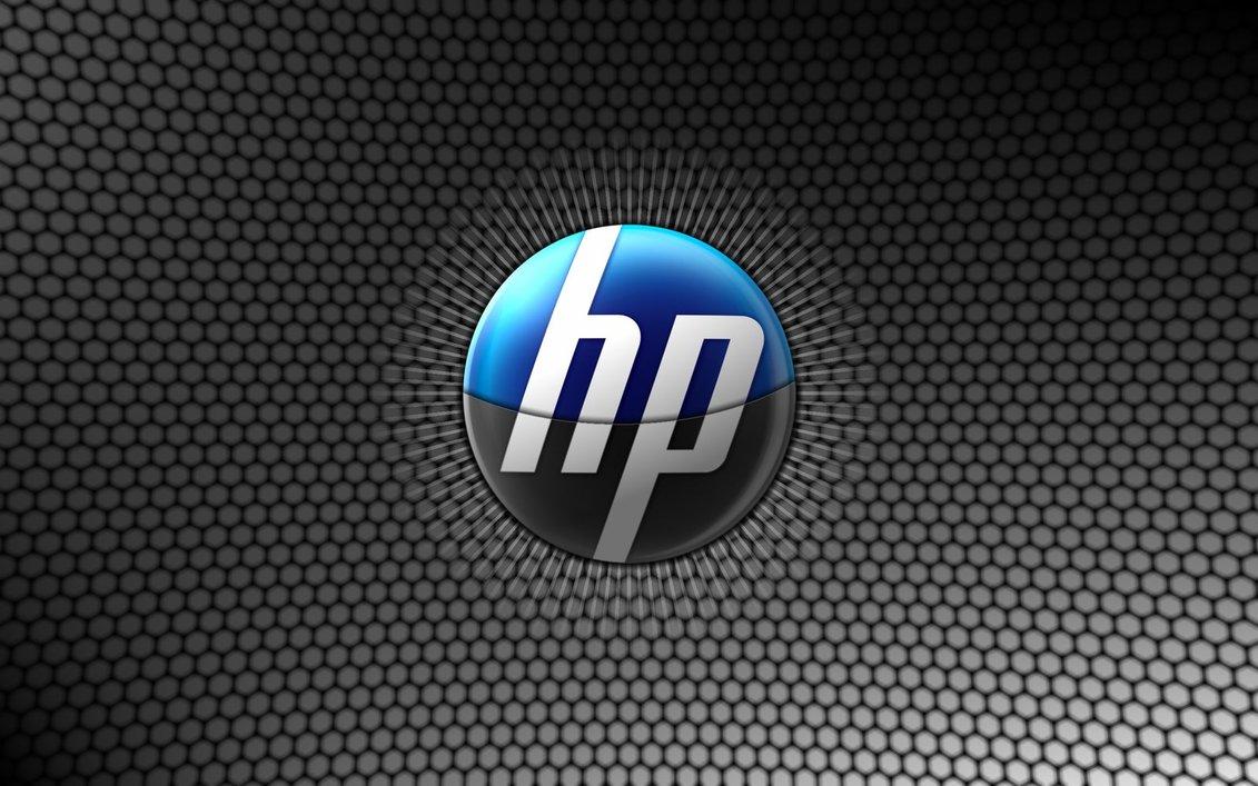 hp logo wallpaper