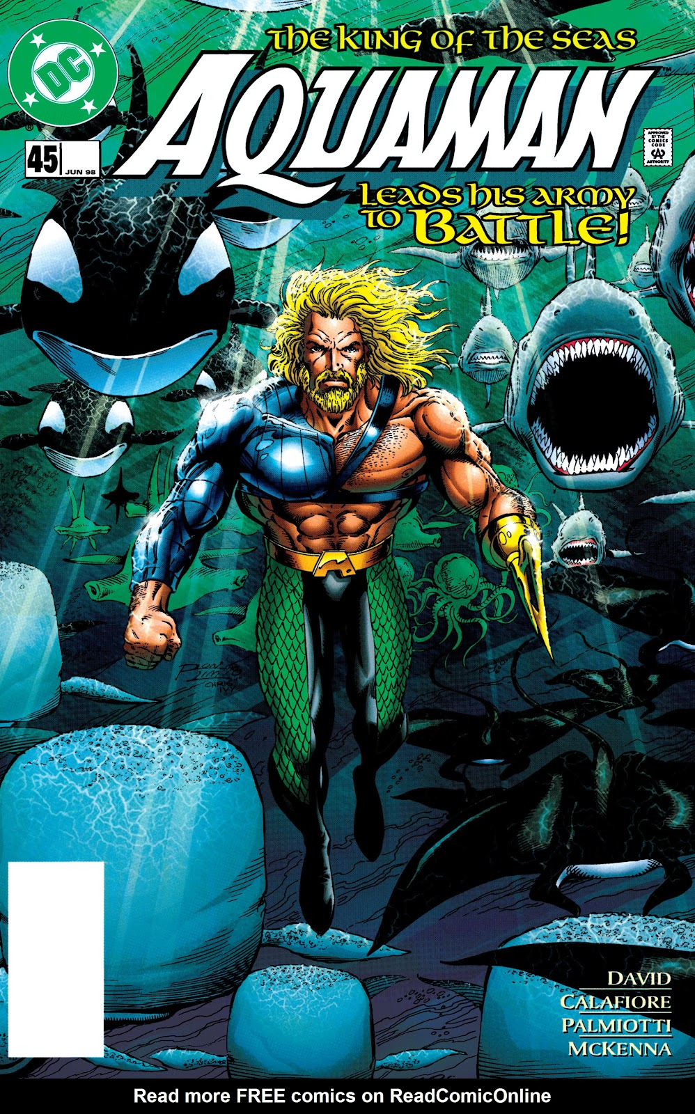 Aquaman (1994) Issue #45 #51 - English 1