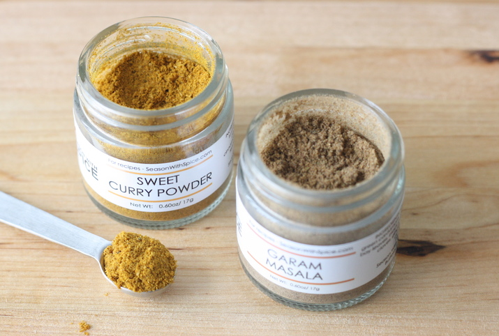 Sweet Curry Powder & Garam Masala at SeasonWithSpice.com