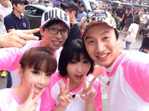 2NE1 , Lee Kwang Soo , minzy