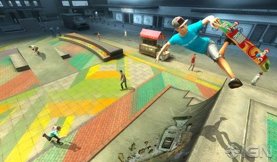 Gameplay Shaun White Skateboarding