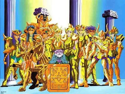 Fotos Caballeros del Zodiaco Dorados.