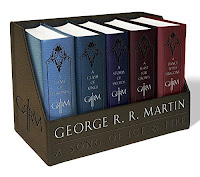 Game of Thrones Leather Book Set