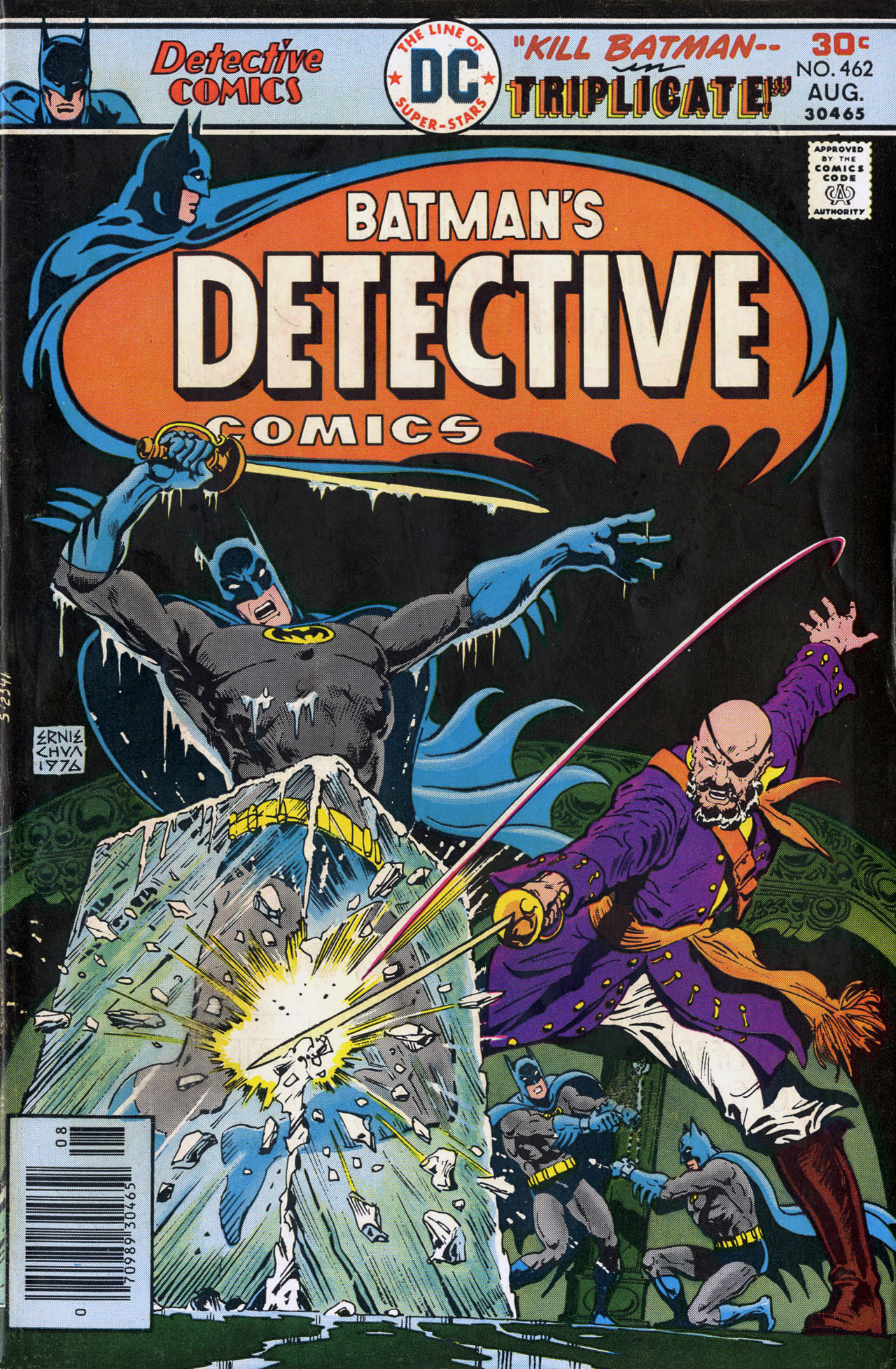 Detective Comics (1937) Issue #462 Page 1