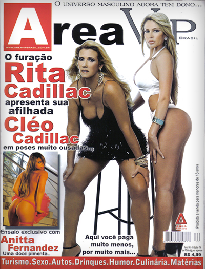 Download - Cléo Cadillac - Revista Area Vip