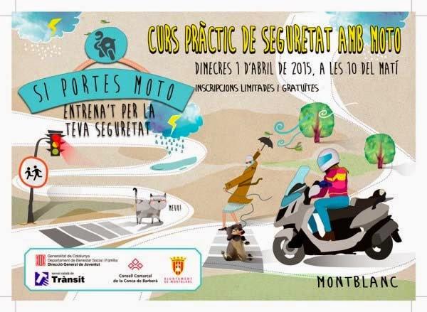 Curs pr ctic de seguretat amb moto de l 39 oficina jove de la for Oficina seguretat social