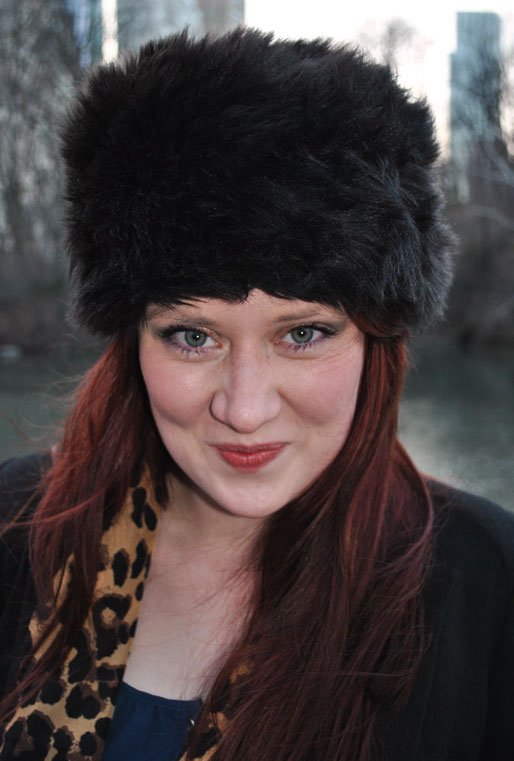 a style of your own blog, mollie booth parks, central park. outfits, fur hat, TJ Maxx leopard top, fashion blog