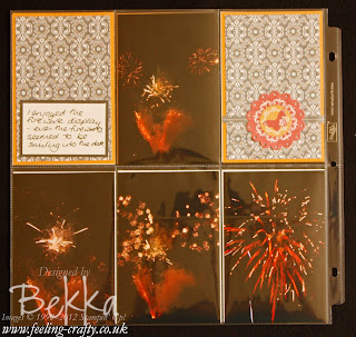 Divided Page Protector Scrapbooking ideas from Stampin' Up! Demonstrator Bekka Prideaux - check it out here