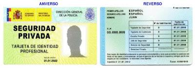 licencia de detective/ TIP